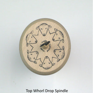 Top Whorl Drop Spindle Top View