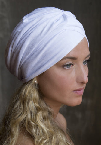 White Turban Scarf (Monique Favorite)