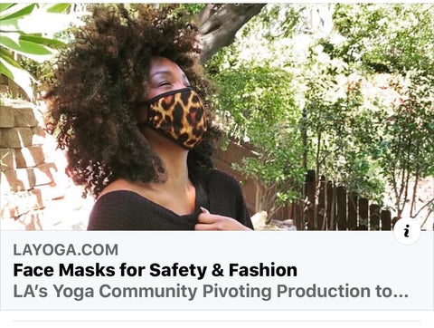 Fashion Face Mask - Leopard