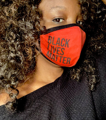 Fashion Face Mask - Black Lives Matter