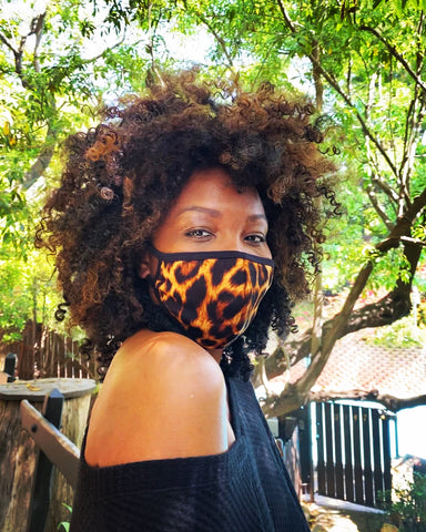Fashion Face Mask - As Featured  On-Line in LA Yoga Magazine