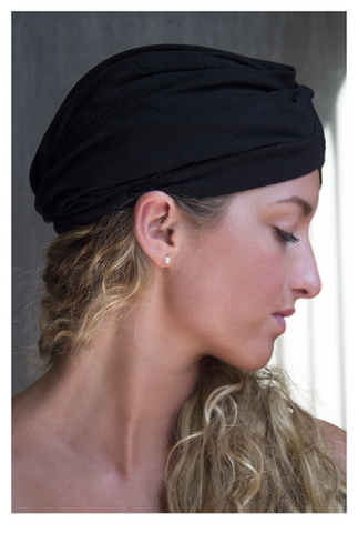 The Black Fashion Turban