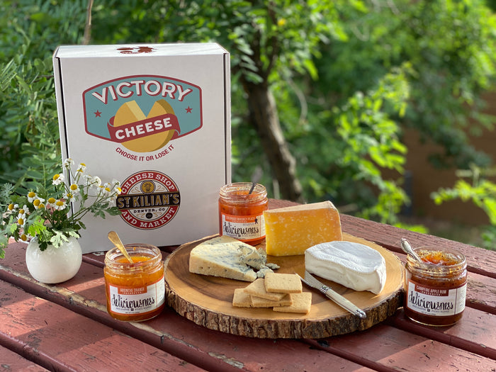 Victory Cheese Box -large- American Artisan Cheese Assortment