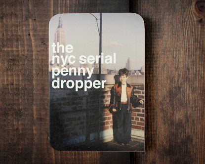 NYC Penny Dropper - a blank card