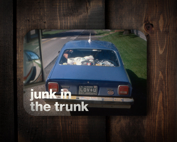 Junky Trunk - a love card