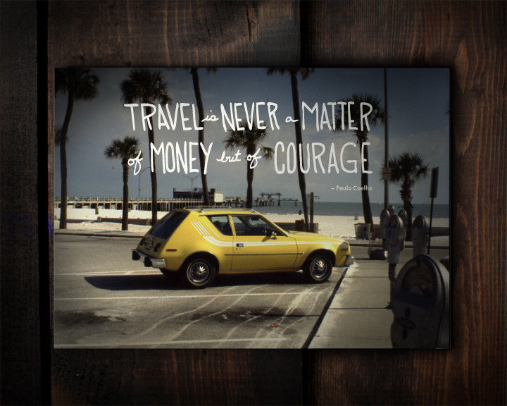 Matter of Courage - a postcard