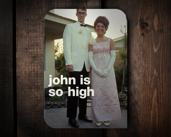 So High - a birthday card...what?