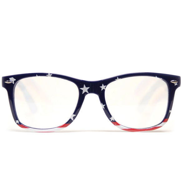 American Flag Diffraction Glasses