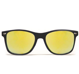 Diffraction Glasses – Black – Gold Mirror