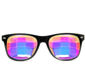 Bug Eye Ultimate Kaleidoscope Glasses – Black