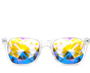 Ultimate Kaleidoscope Glasses- Clear