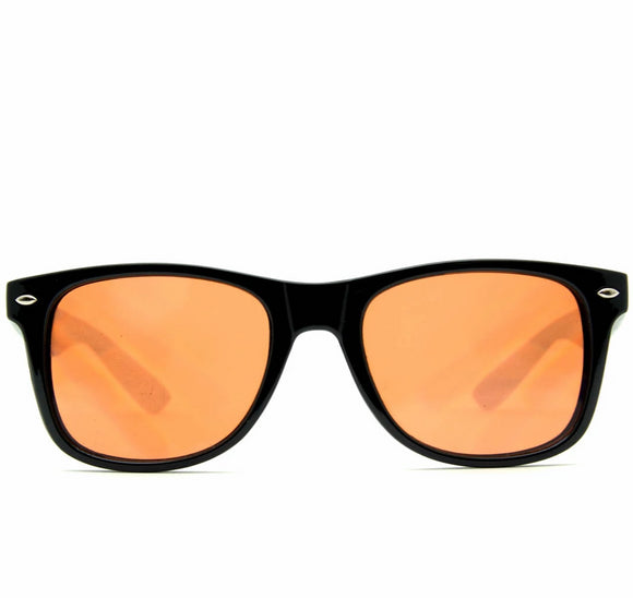 Ultimate Diffraction Glasses – Black Auburn Enhanced