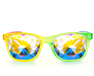 Ultimate Kaleidoscope Glasses – Transparent Rainbow