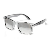Chrome Diffraction Glasses - Silver Mirror