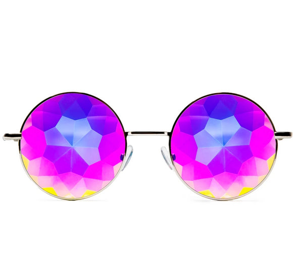 Imagine Kaleidoscope Glasses – Silver