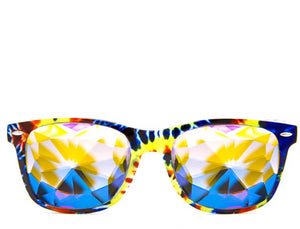 Tie Dye Kaleidoscope Glasses – Limited Edition