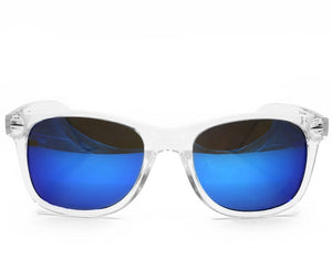 Diffraction Glasses – Clear – Blue Mirror
