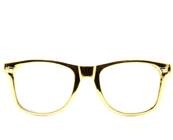 All Gold Diffraction Glasses
