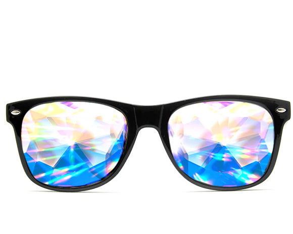 Ultimate Kaleidoscope + Diffraction Glasses – Black
