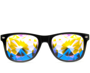 Ultimate Kaleidoscope Glasses- Black