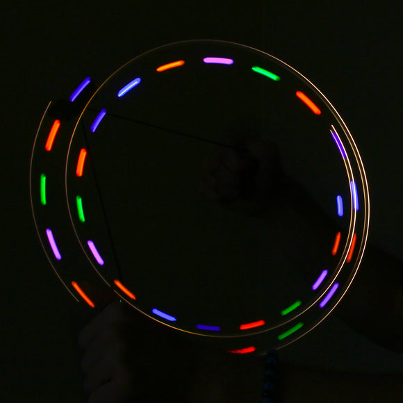 2-LED Orbit: Color Fly