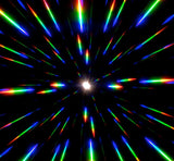 Ultimate Diffraction Glasses - Black/Blue Mirror