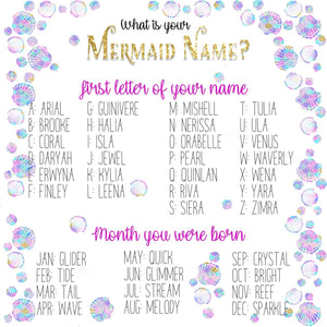 Personalized Mermaid Name Phone Case - Bubble