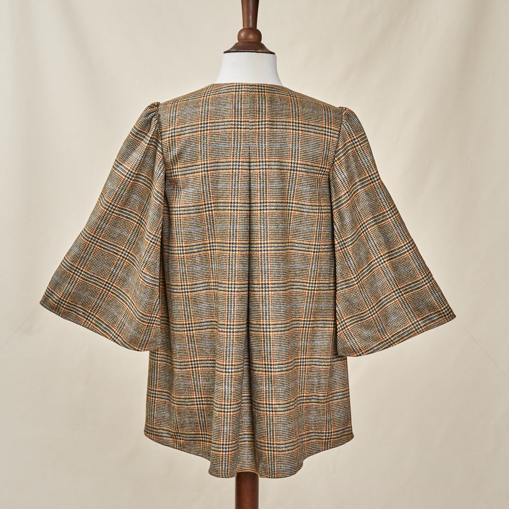 MULHOLLAND - CAMEL GLENN PLAID