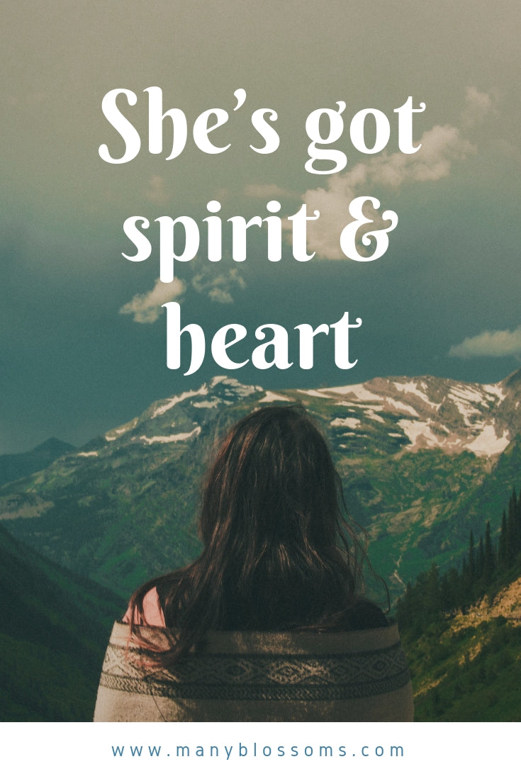 She's got spirit and heart #quotes #love #romance #quotestoliveby #quoteoftheday