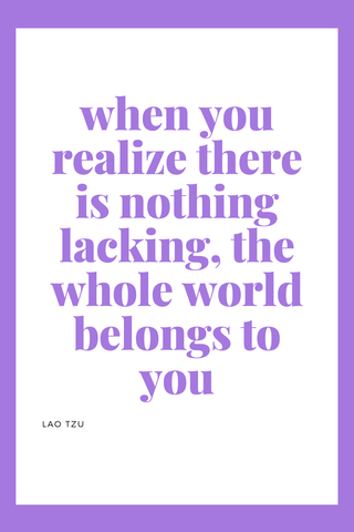 Positive inspirational quotes to get you through this big new chapter. This is an unexpected and hard time that we are all going through together right now. Get some words of encouragement with wisdom to keep going. These are all short and curated specifically for women. Words of encouragement for spiritual inspiration. #motivation #self #mom #momtobe #momlife #selflove #selfimprovement #inspirationalquotes #inspirational #life #happy #motivationalquotes #quoteoftheday #quotestoliveby #quotes When you realize there is nothing lacking, the whole world belongs to you. -Lao Tzu