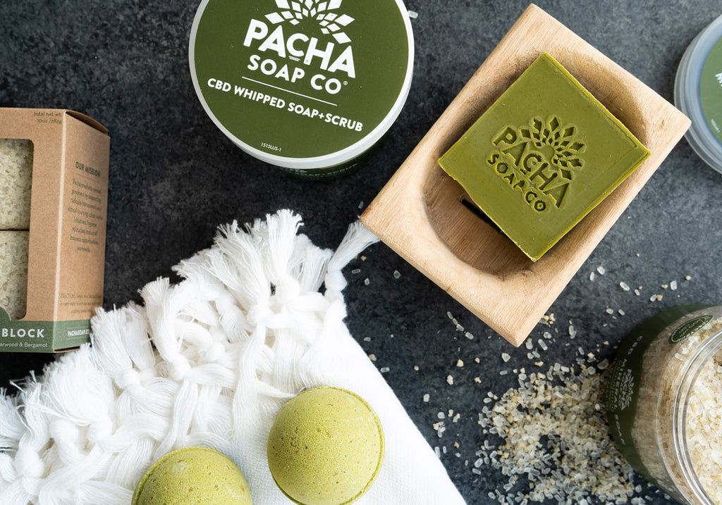 Natural CBD Bath Products