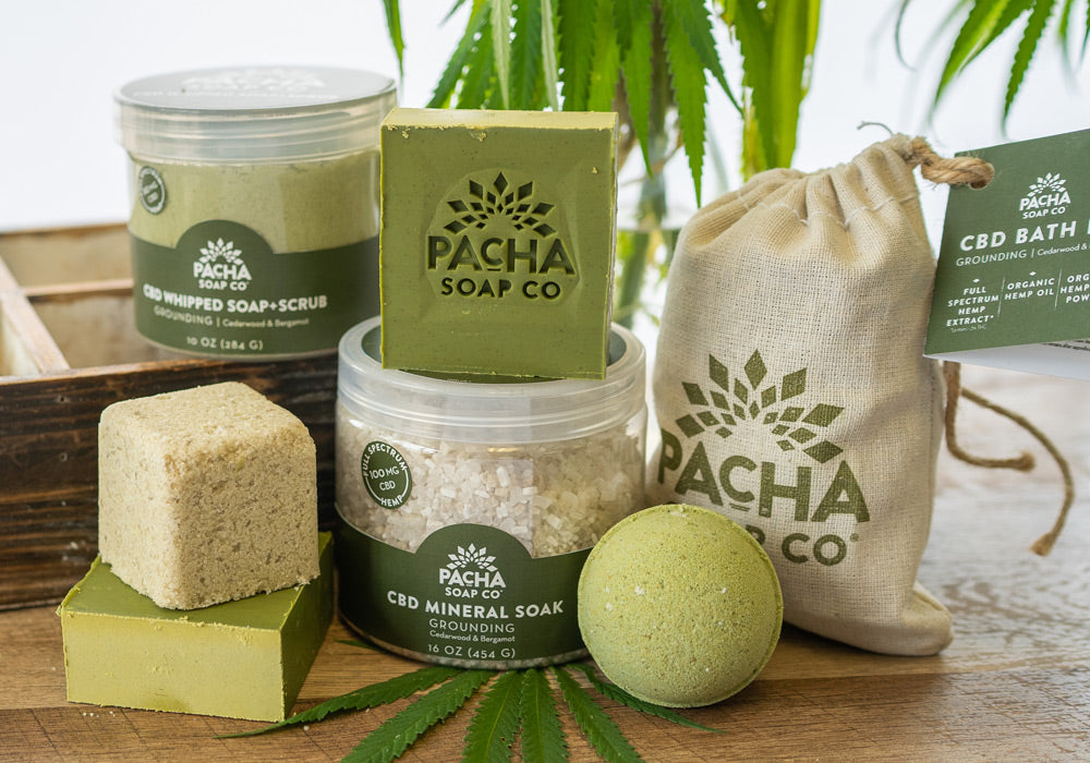 All Natural CBD Bath Products
