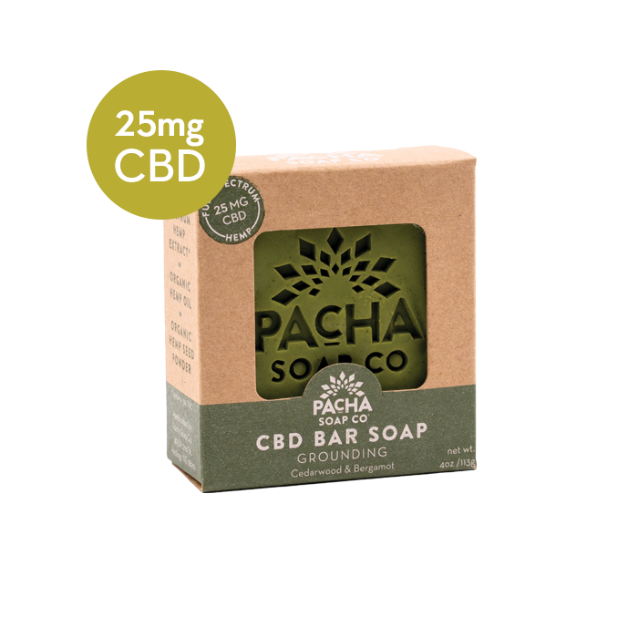 CBD Bar Soap - 4oz.