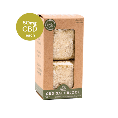 CBD Salt Block - 5 oz. - 2 pack