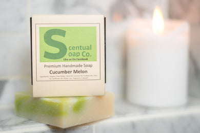 Natural Soap: Cucumber Melon
