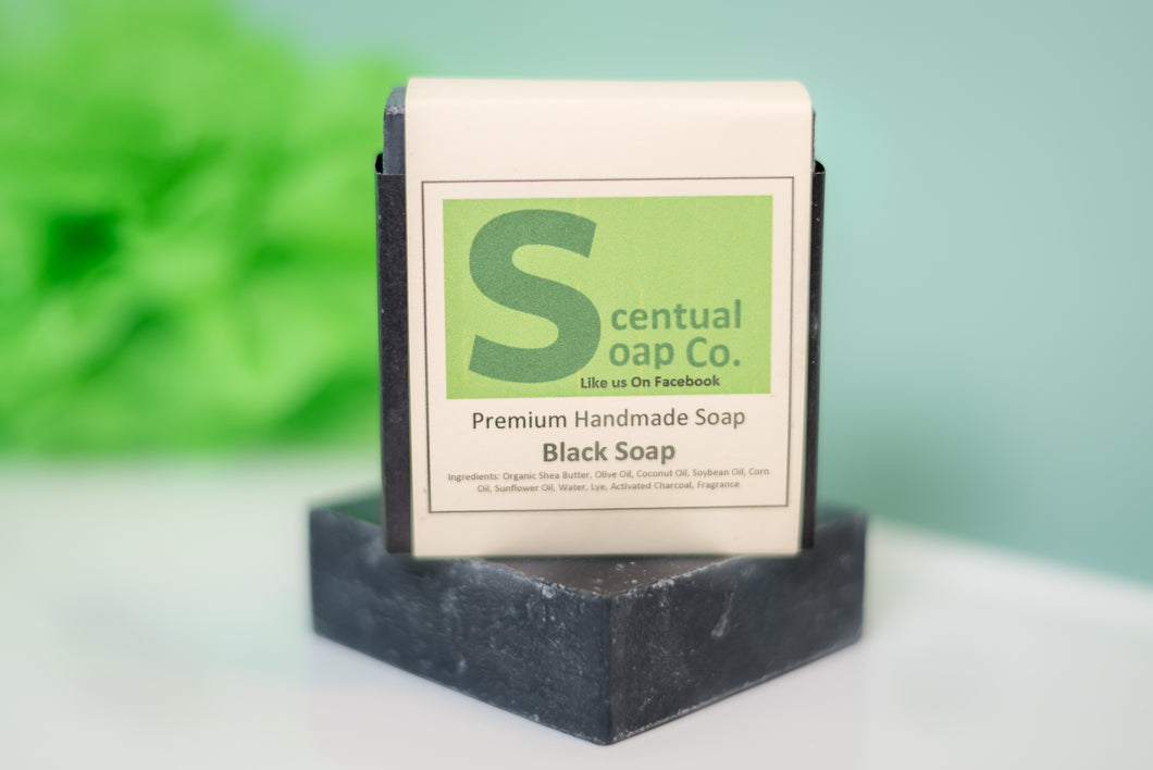 Natural Soap: Black