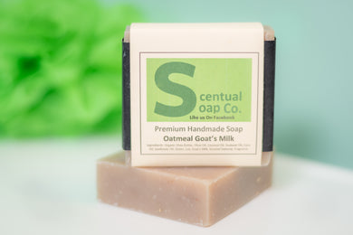 Goat Milk Soap: Oatmeal