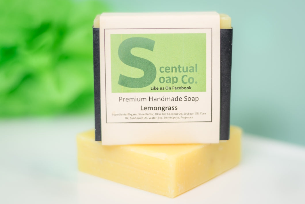 Natural Soap: Lemongrass