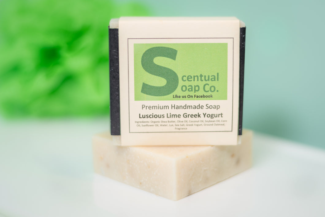 Greek Yogurt Soap: Luscious Lime