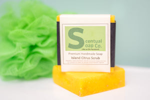Natural Soap: Island Citrus Scrub