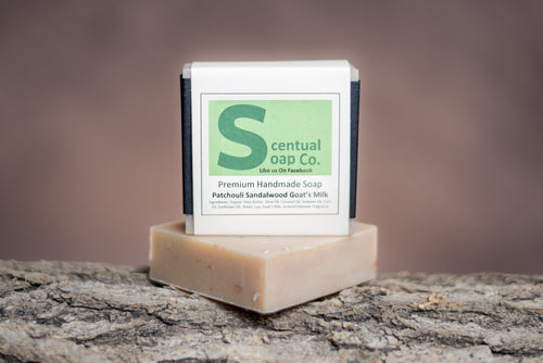 Goat Milk Soap: Patchouli Sandalwood