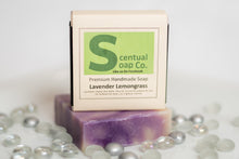 Load image into Gallery viewer, Natural Soap: Lavender Lemongrass