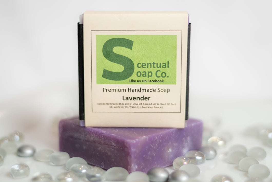 Natural Soap: Lavender