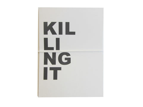 Killing it Card set of 4