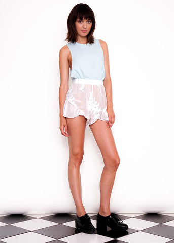 Lace Frill Shorts