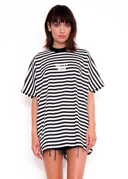 Stripe Oversized Tee