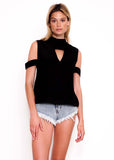 Route 66 Top in Black