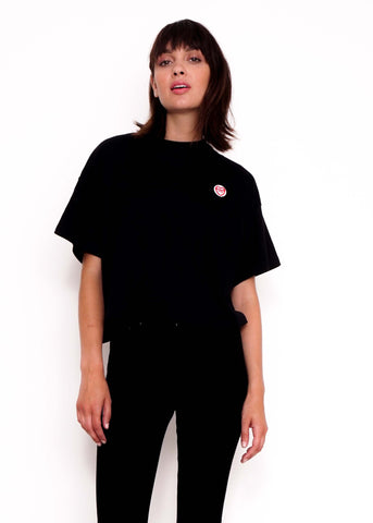 Sugar Tits Patch Black T-Shirt