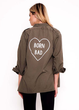 Born Bad Army Jacket