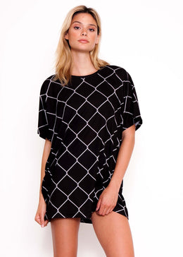 Chain Link Oversize Tee **Pre-Order**
